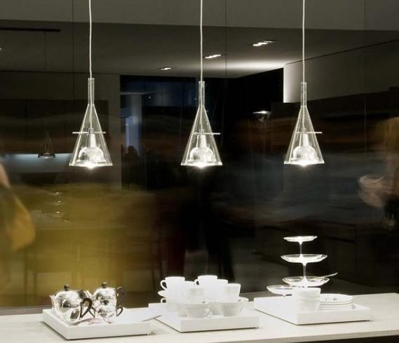 Lampa Wisząca Potr 243 Jna Fontana Arte Flute Oświetlenie
